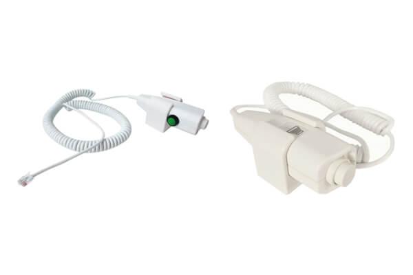 Handbrake switch for x-ray diagnostic machine