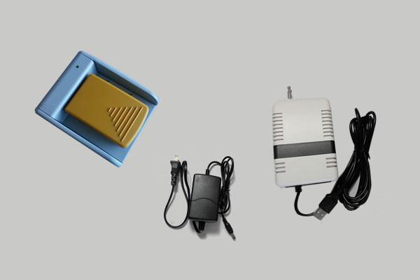 New wireless x ray foot switch